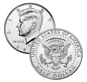 1980 P/&D Kennedy Half Dollars in BU Condition