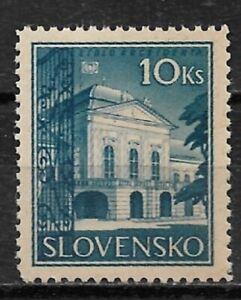 Slovakia-1940-Presidential-Residence-Scott-44-VF-MLH-OG-MB-6