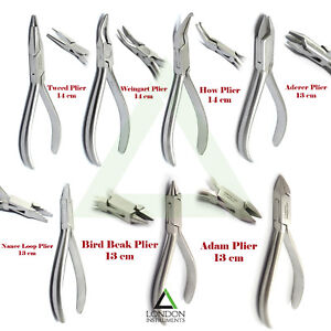 Professional-Range-Of-Wire-Bending-Pliers-Forming-Loop-Tooth-Braces-Pliers-Lab