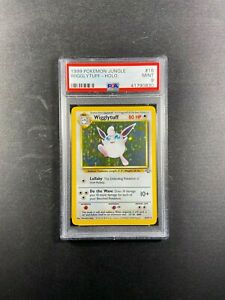 Pokemon Jungle WIGGLYTUFF PSA 9 Unlimited 16/64 1999 Mint