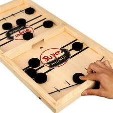 Fast Sling Puck Game Paced SlingPuck Winner Board Game Toys Juego Adult H2I5