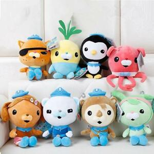 Octonauts-Action-Figures-Plush-Toys-Captain-Barnacles-Medic-Peso-Kids-Gifts-NEW