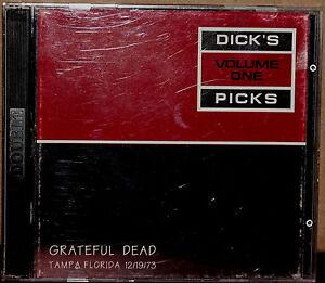 GRATEFUL-DEAD-2-CDs-GDCD-40182-GRATEFUL-DEAD-Dick-039-s-Picks-Volume-ONE-1-1996