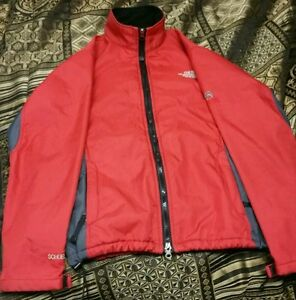 c20aba651 Details about The North Face Schoeller Summit Series 3X dry red jacket size  M