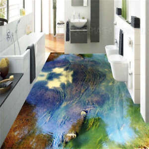 bergwolken 3d fu boden wandgem lde foto bodenbelag tapete. Black Bedroom Furniture Sets. Home Design Ideas