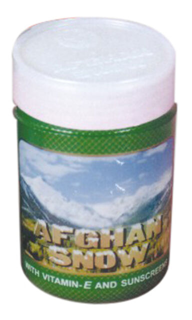 Afghan Snow  Ideal All Day Cream  50 GM Jar  With SPF 15, Vit E ,Sunscreen