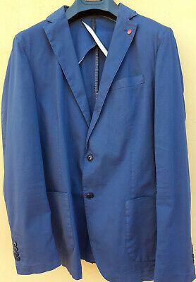 giacca uomo blu elettrico liu jo