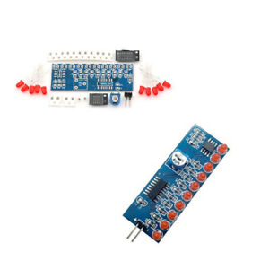 DIY Kit Running Flow LED Light Production Suite Electronic NE555+CD4017.US