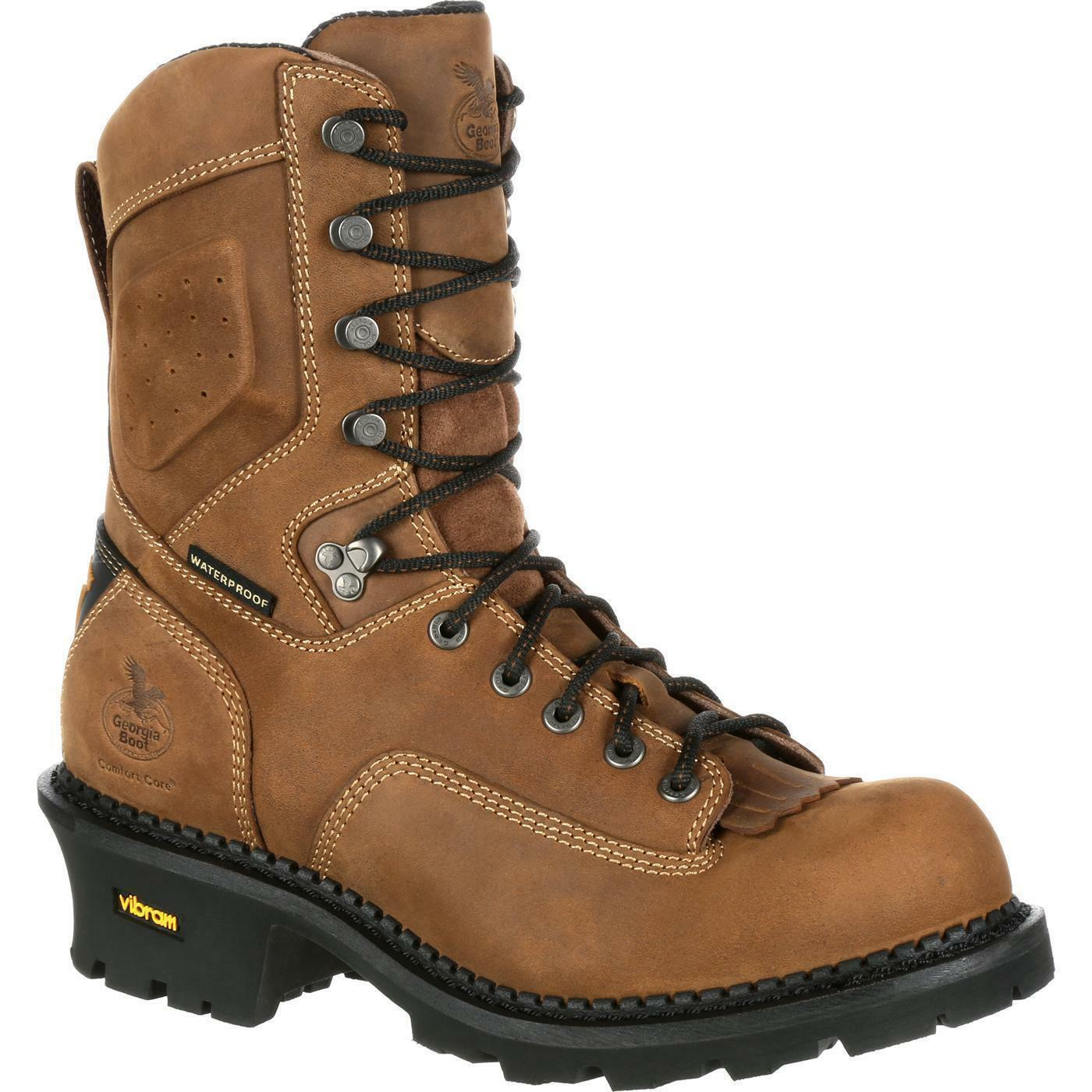 Georgia GB00097 9  Comfort Core Logger Composite Toe Waterproof Work Boot