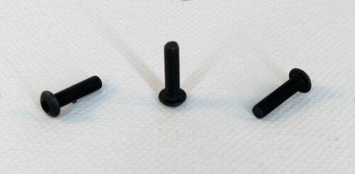 M3 x 12mm 10x Stahl Linsenkopfschraube 10.9 ISO 7380-1