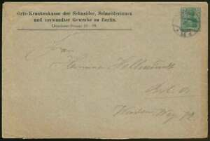 D-Reich-Privatumschlag-PU-26-B15-07-Ortskrankenkassen-der-Schneider-H0022