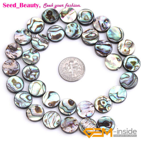 Jewellery Watches Clips Coin Green Rare Natural Abalone Shell Beads For Jewelry Making 15 Rudisbakery Com