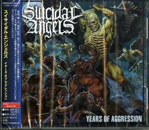 Suizidale-Angels-jahrelange-Aggression-Japan-CD-Bonus-Track-f75