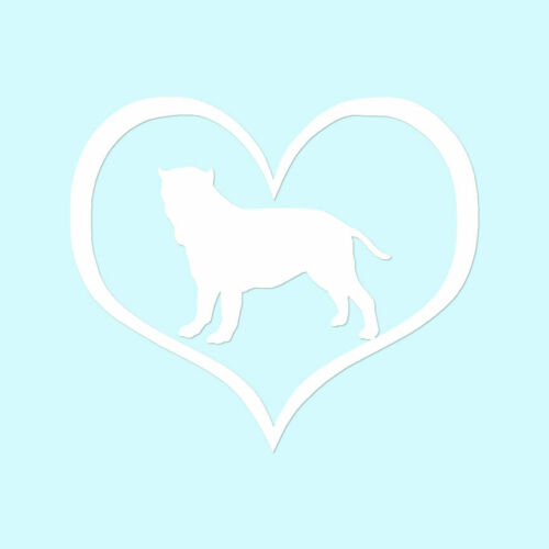 ebn1487 Heart Neapolitan Mastiff Dog Vinyl Decal Multiple Color /& Sizes