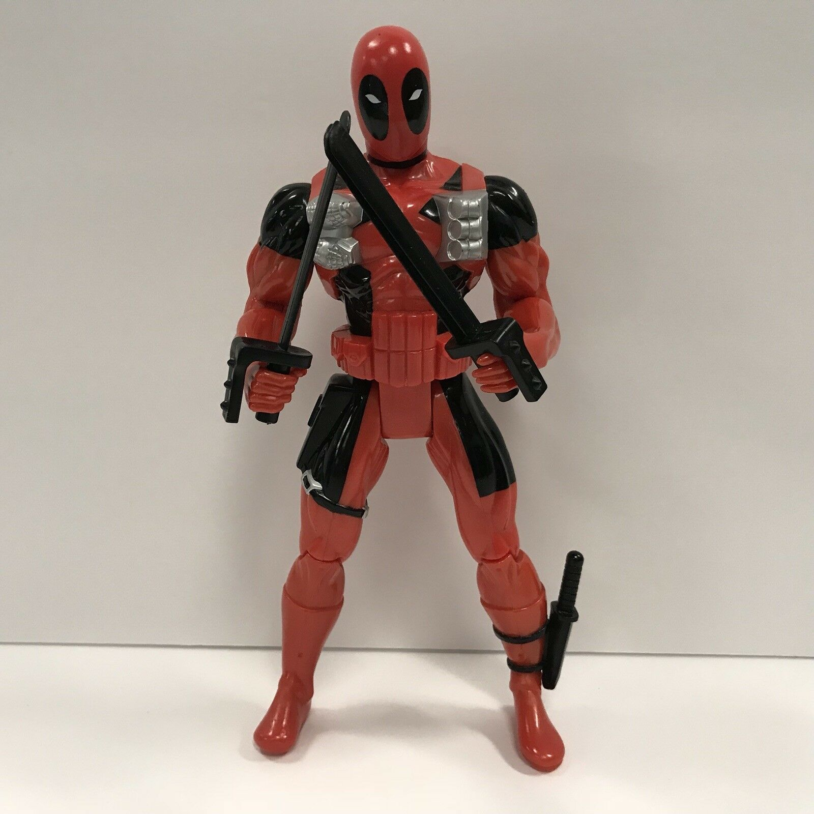 Vintage 1997 Marvel Comics Deadpool 10 inch Figure Loose NO BOX Complete