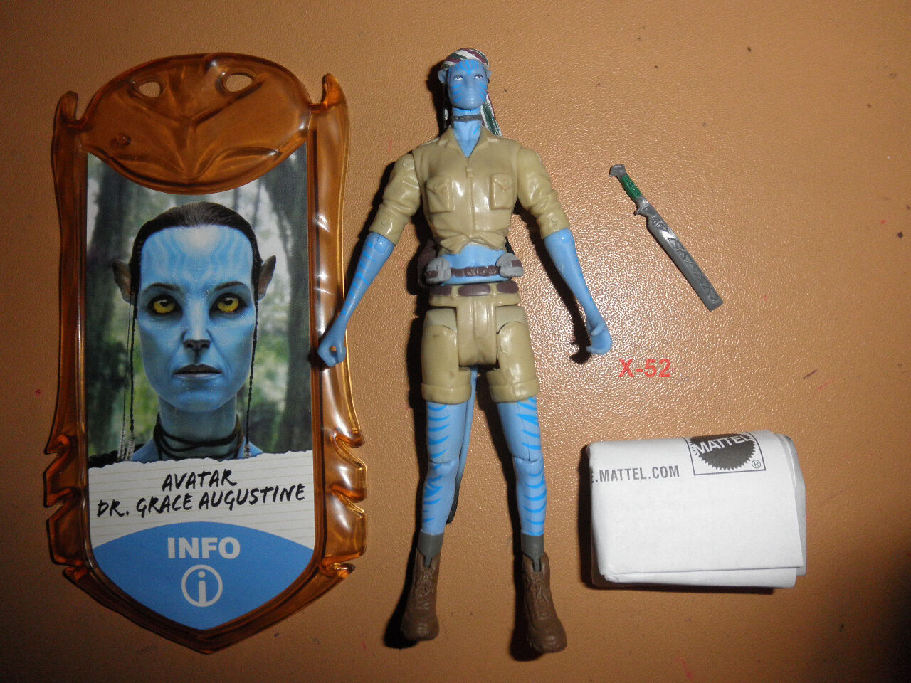 Avatar - film navi dr. grace augustine abbildung spielzeug sigourney weaver james cameron