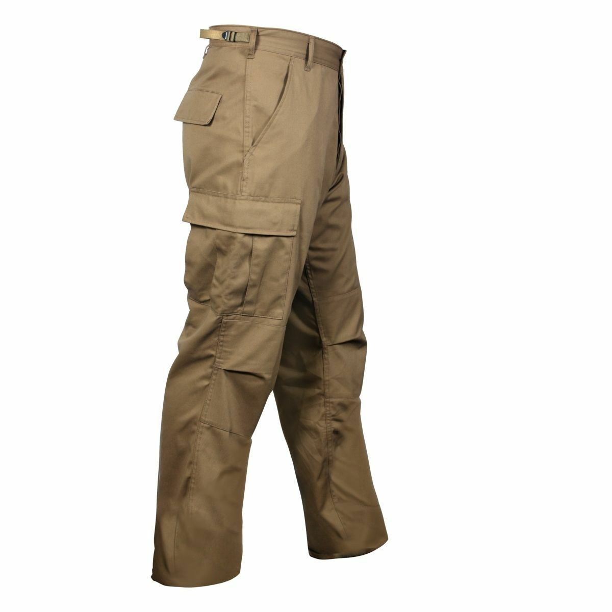 Coyote Brown Military BDU Cargo Polyester Cotton Fatigue Pants redhco 8522