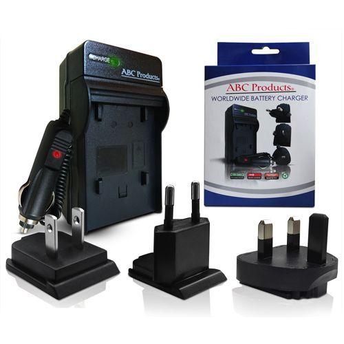 Cargador de Batería para Sony Handycam DCR-DVD105//DCR-DVD106 Videocámara Video Cámara