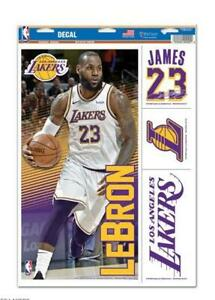 Lebron-James-Los-Angeles-Lakers-4-Aufkleber-Decal-Badges-Set-NBA-Basketball