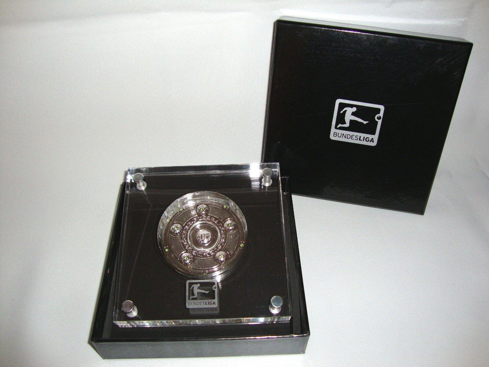 DFL-Meisterschale 70mm in in in Acryl alle Meister 1903-2012 DFB Borussia Dortmund 282c02