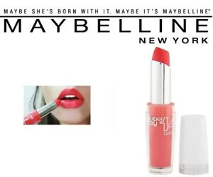Details about Maybelline New York Super Stay 14 Hour Lipstick 430 Stay With Me Coral