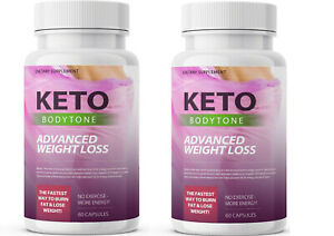 Keto-Body-Tone-Advanced-Weight-Loss-120-Capsules-New-amp-Sealed