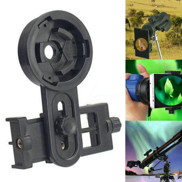 Universal Phone Telescopes Binoculars Shooting Adapter Mount Clamp Connector USA