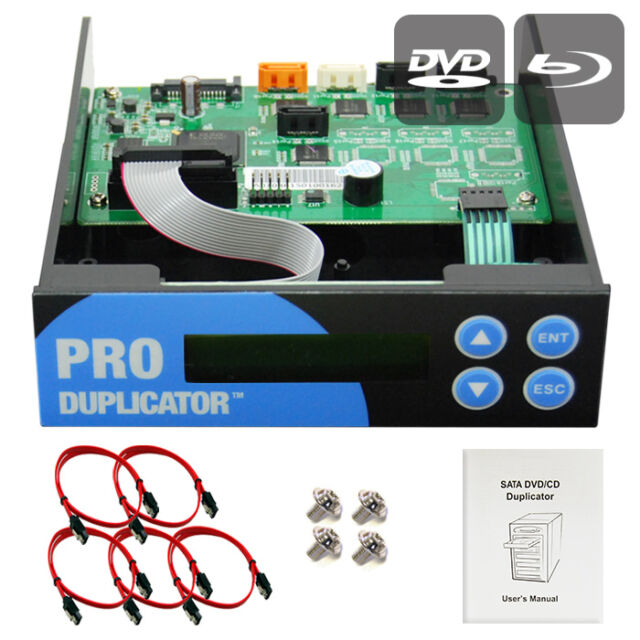Produplicator 1-2-3 Blu-ray CD/DVD/BD SATA Duplicator Copier CONTROLLER +Cables