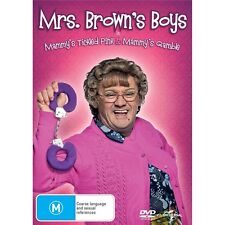 MRS. BROWN'S BOYS: Mammy's Tickled Pink & Mammy's Gamble-Region 4-New AND Sealed