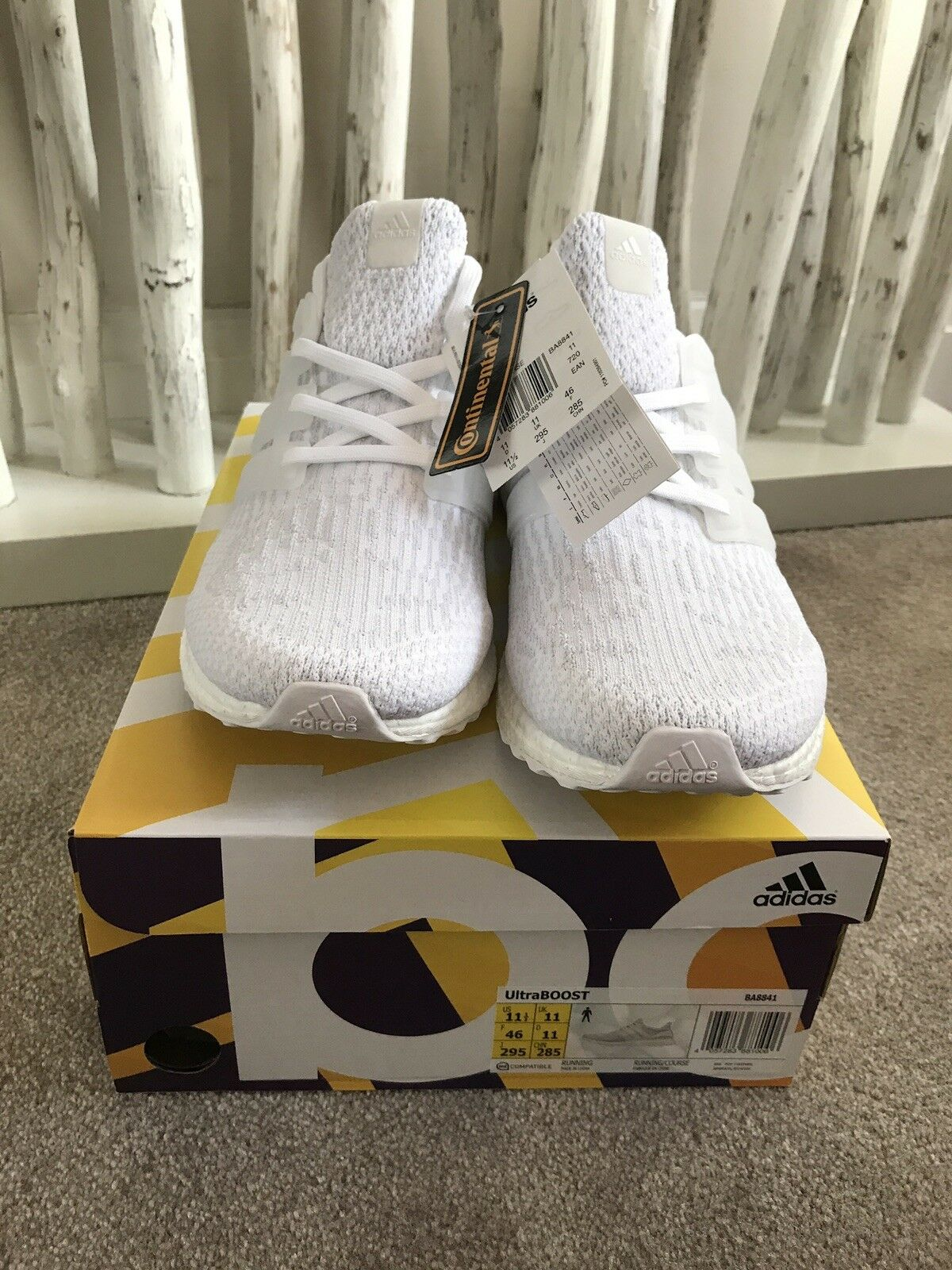Adidas ultra boost uk 10 Weiß Deadstock