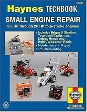 Small Engine Repair: 5.5 HP Thru 20 HP Four Stroke Engines (Haynes TECHBOOK), Ha