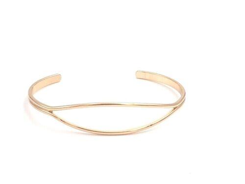 Geometrisches Armband gold silber Grössenverstellbar