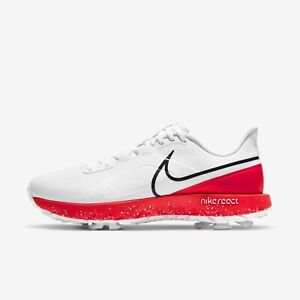 Nike React Infinity Pro Golf Shoes Sneakers White/Infrared 23 ...