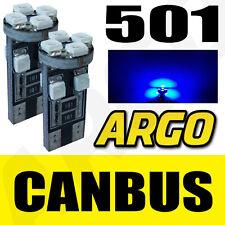 501 CANBUS 8 SMD LED ERROR FREE BLUE SIDELIGHT BULBS DAIHATSU SIRION
