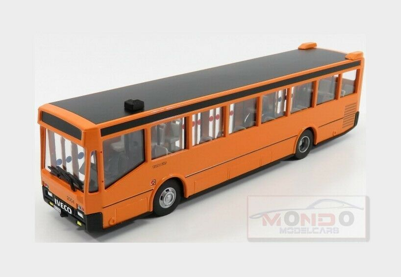 IVECO Fiat Autobus  Turbo City 2004 Orange oldvoitures 1 43 old07000-3 Model  promotions passionnantes