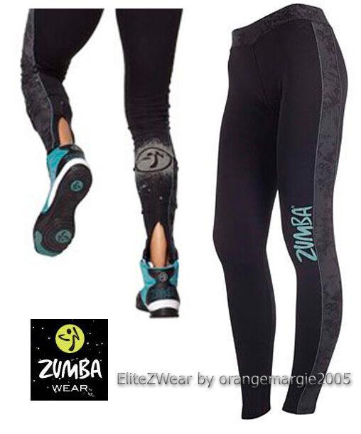 ZUMBA Cosmic Long Leggings Soft-n-SleekRare-EliteZWear-Exclusive at U.K Harrods