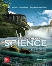 NEW - Cunningham Environmental Science: A Global Concern - Ap Edition