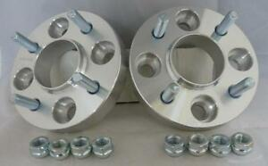 4x108-25mm-ALLOY-Hubcentric-Wheel-Spacers-1-Pair-to-fit-Ford-Fiesta-Mk6-Mk7