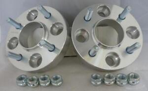 4x108-25-mm-in-lega-Hubcentric-Wheel-Distanziatori-1-COPPIA-per-adattarsi-FORD-FIESTA-Mk6-Mk7