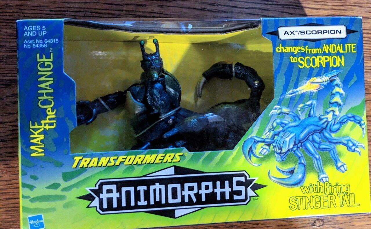 Hasbro Transformers  Animorphs Ax  Scorpion Action Figure