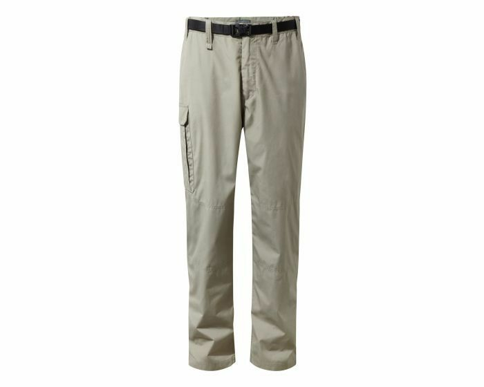 Craghoppers Mens Gents Classic Kiwi Lightweight Walking Hiking Trousers - Rubble