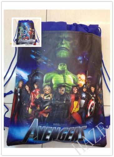 Avengers Backpack Swimming Clothes Environmental Drawstring Bag VVV