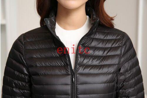 Jacket Slim Winter Warm Womens Down Coat Outwear Overcoat Stylish New Thick**
