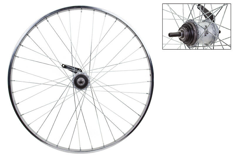 WM Wheel Rear 26x1-3 8 590x19 Stl Cp 36 S a 3sp Cb 14gucp W shifter and Trim Kit