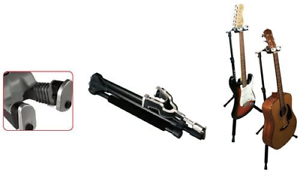 Ultimate Support Systems GS1000PRO GS-1000 Pro Guitar Stand Genesis Black
