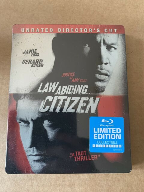 Law Abiding Citizen Steelbook Region A Blu Ray New/Sealed US Import Butler Foxx