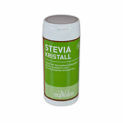 100 gr. Stevia Kristallklar Nachfüllpack NEU - BITTERFREI TOP Qualität !