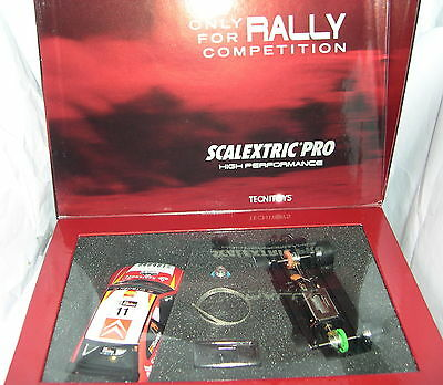 Qq 5025 Scalextric Pro Rally Citroen Xsara Rally Argentina #11 Taube Evident Effect Spielzeug