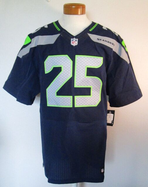 low priced a1158 60415 NWT Nike Richard Sherman Seattle Seahawks #25 Elite Home Jersey 56 Navy  MSRP$295