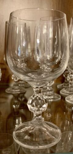WATER BOHEMIA CLAUDIA CRYSTAL GLASSWARE WINE CHAMPAGNE /& OTHER GLASSES //STEMS